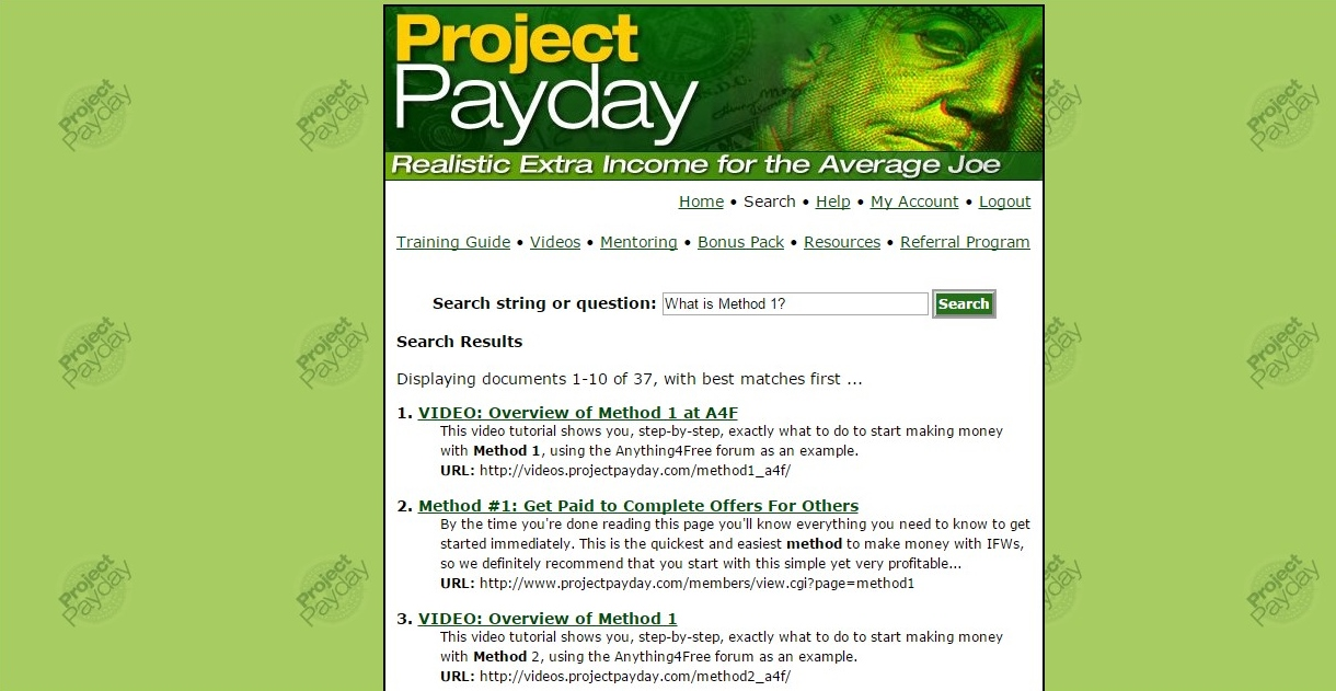 is project payday legit Get paid to take real surveys from market research companies.
