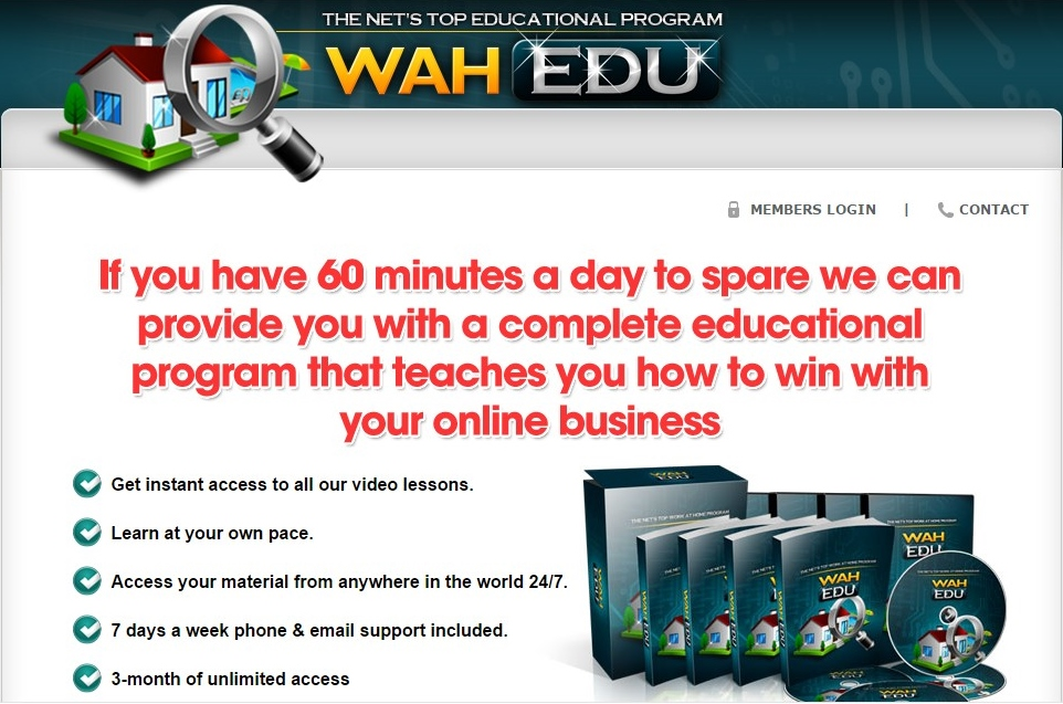 Is Work at Home (WAH) University a Scam? My unique Review