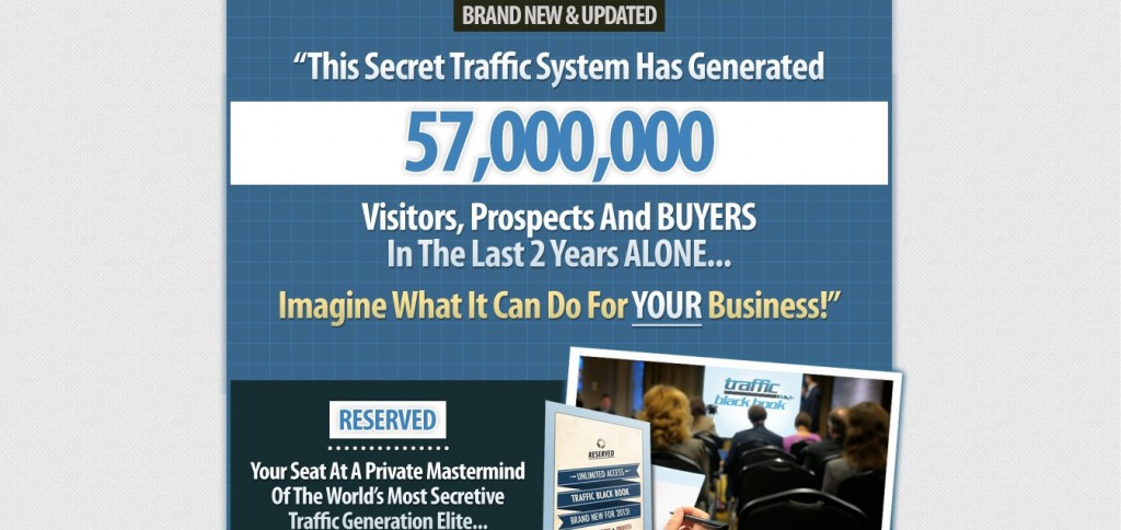 Traffic BlackBook Scam Review – The Paid Advertising Secrets