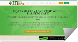 HQ Rev Share Scam Review – Similar to Other Revenue Sharing Sites