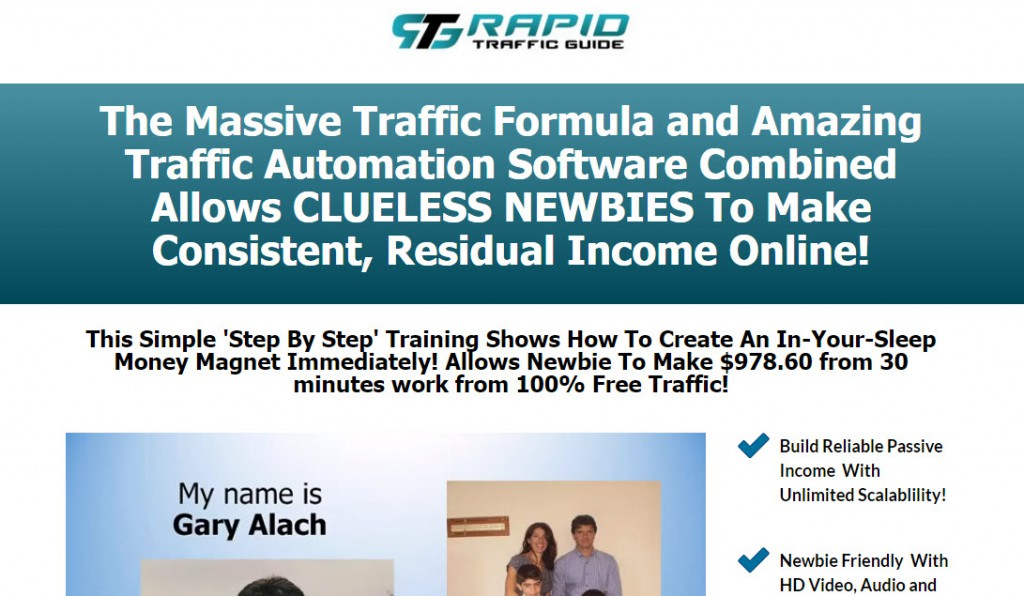 Rapid Traffic Guide Review – Is it a Scam or Legit?