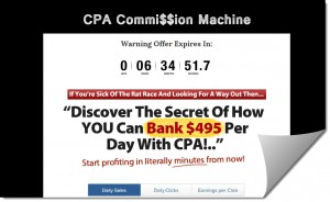 CPA Commission Machine Review – Is it a Scam or Legit?