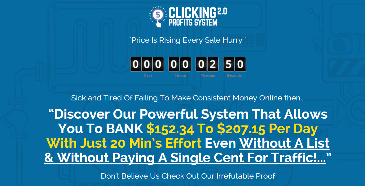 Clicking profits system 20 review is it a scam or legit online clicking profits system 20 review malvernweather Gallery