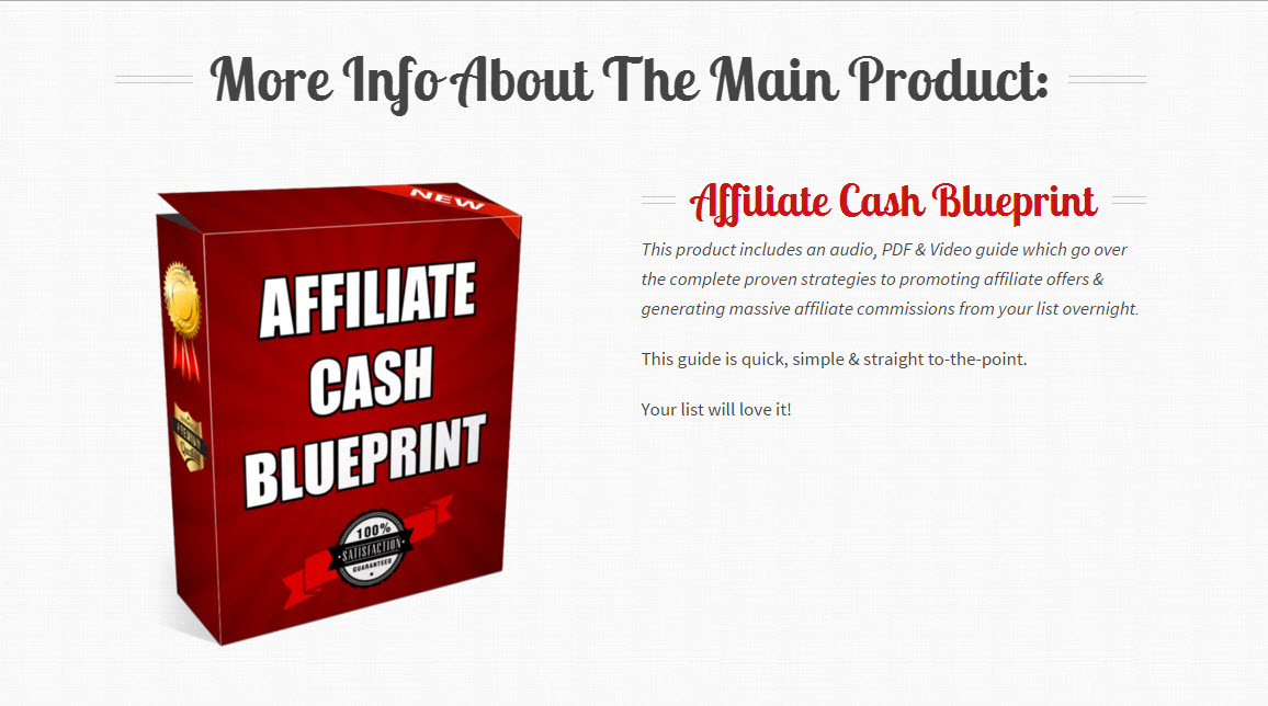 Affiliate cash blueprint review is it a scam or legit online affiliate cash blueprint malvernweather Image collections