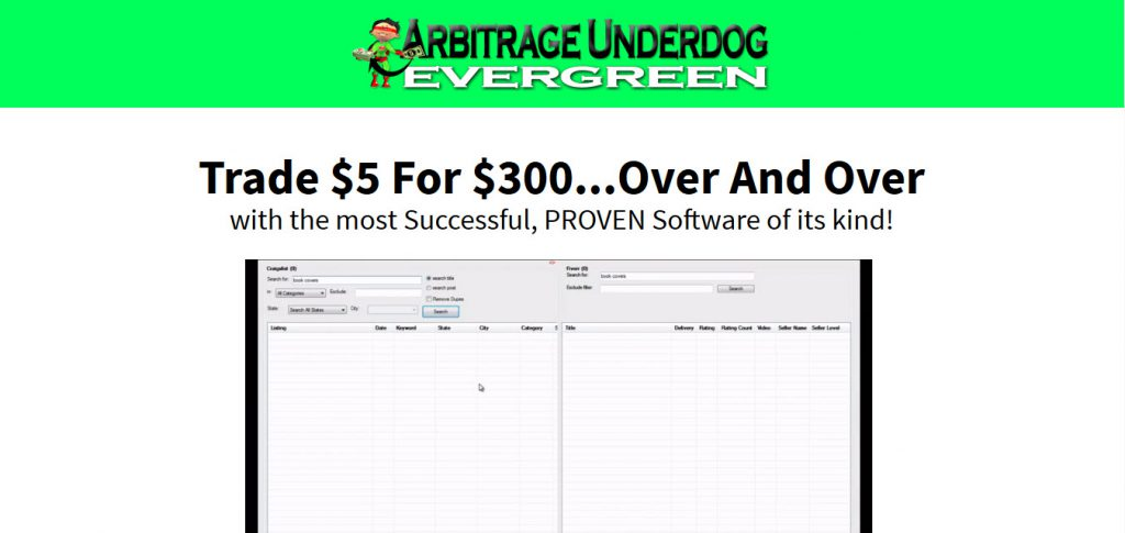 Arbitrage Underdog Evergreen Review – Is it a Scam or Legit?