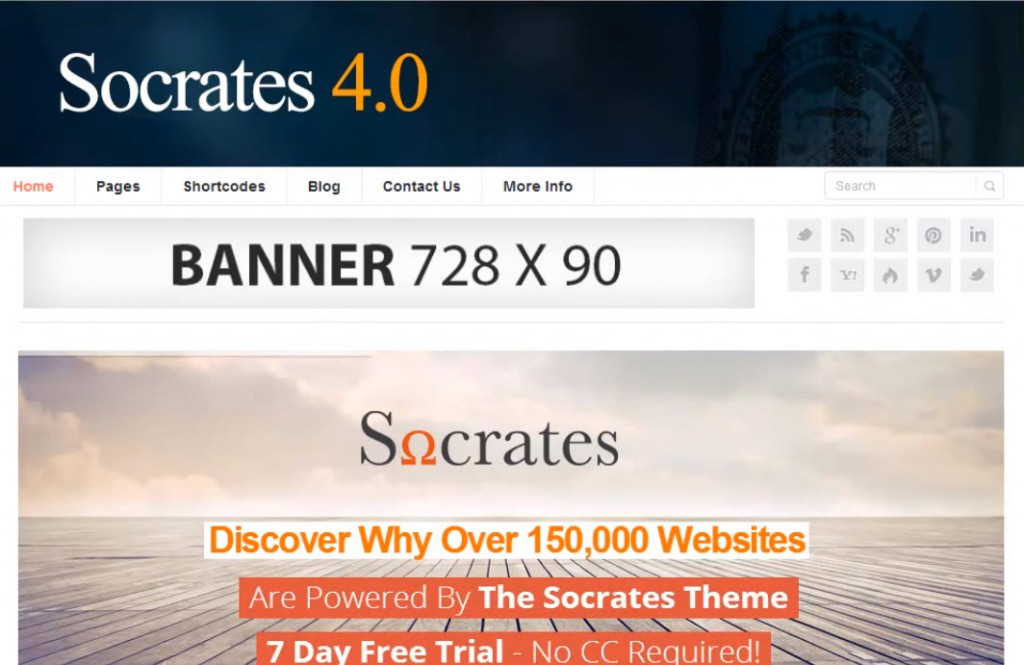 Socrates 4.0 Review – A Great WordPress Theme!
