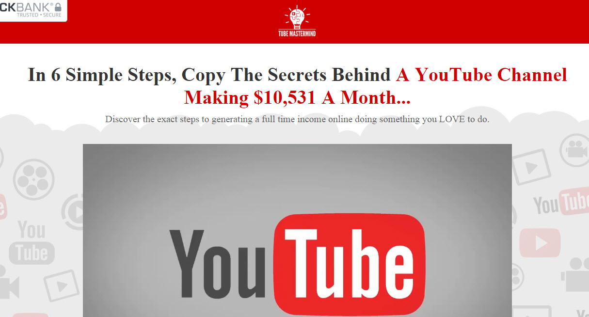 Tube Mastermind Review – It it a Scam or Legit?