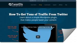 TweetDis WordPress Plugin Review – Get More Tweets and Traffic