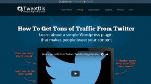 TweetDis WordPress Plugin Review – Get More Tweets and Traffic!