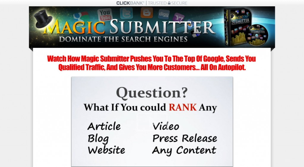 Magic Submitter Review – Does Link Building tool Works?