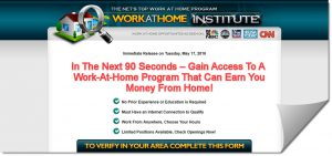 Work at Home Institute Review