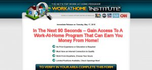 Work at Home Institute Review – The Scam Mystery Explained!