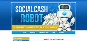 Social Cash Robot Review – Scam and Ponzi Investment Shares?
