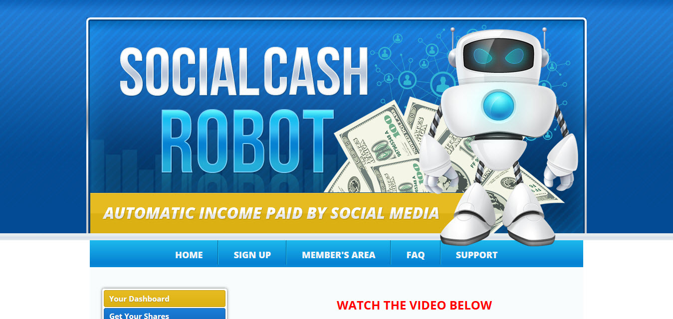 Social Cash Robot review