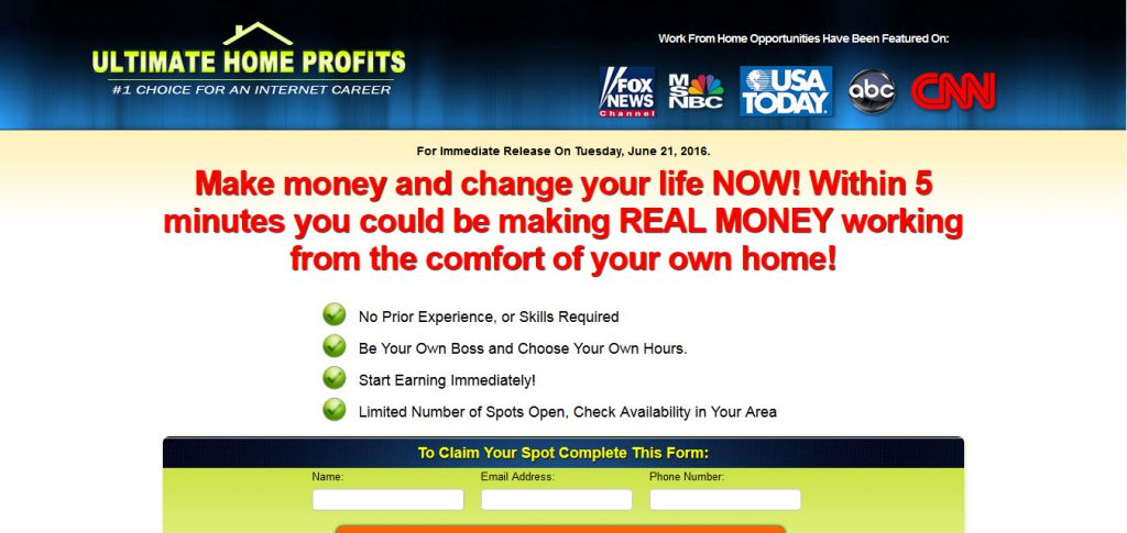 Emily Hudson Ultimate Home Profits Review – Is it a Scam?