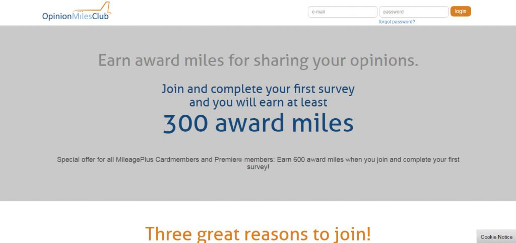 Opinion Miles Club Review – United Airlines Flight Survey Scam?
