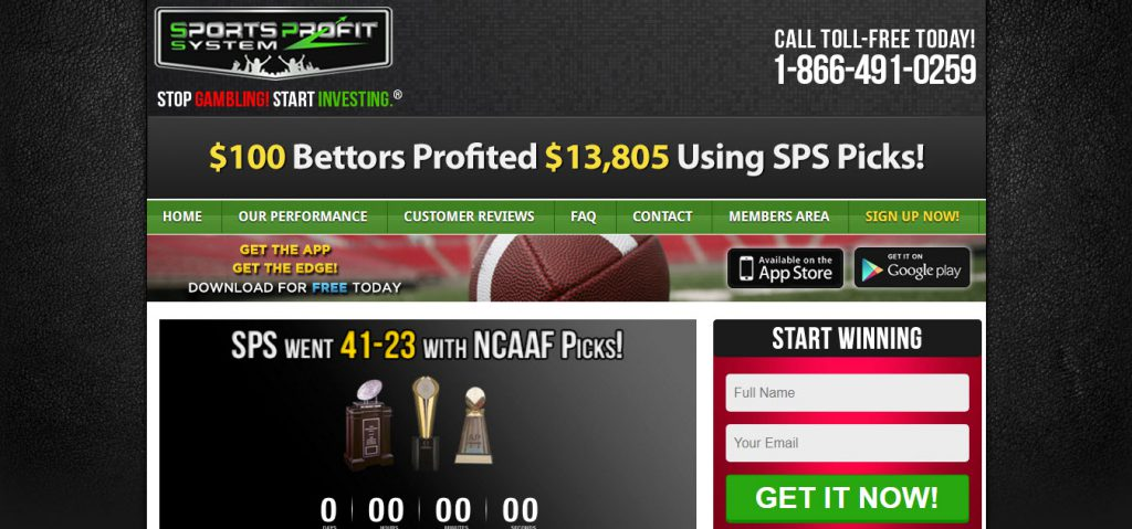 Sports Profit System Reviews – Is it Scam or Legit?