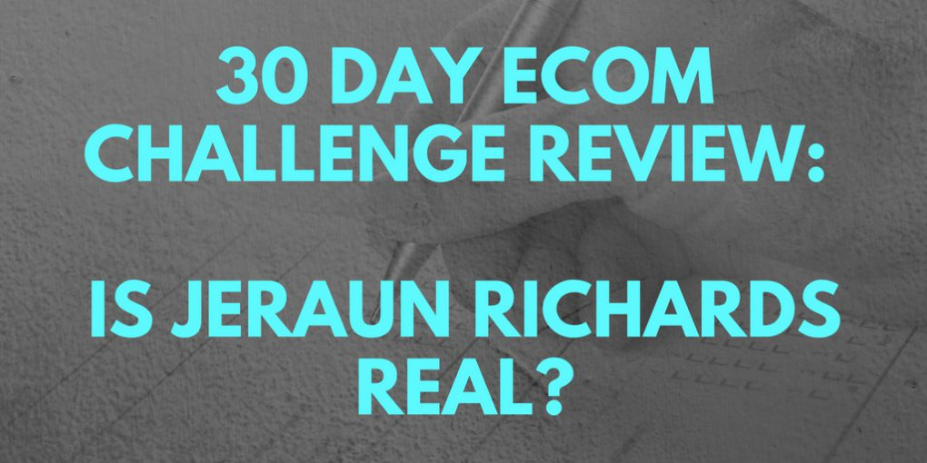 30 Day eCom Challenge Review