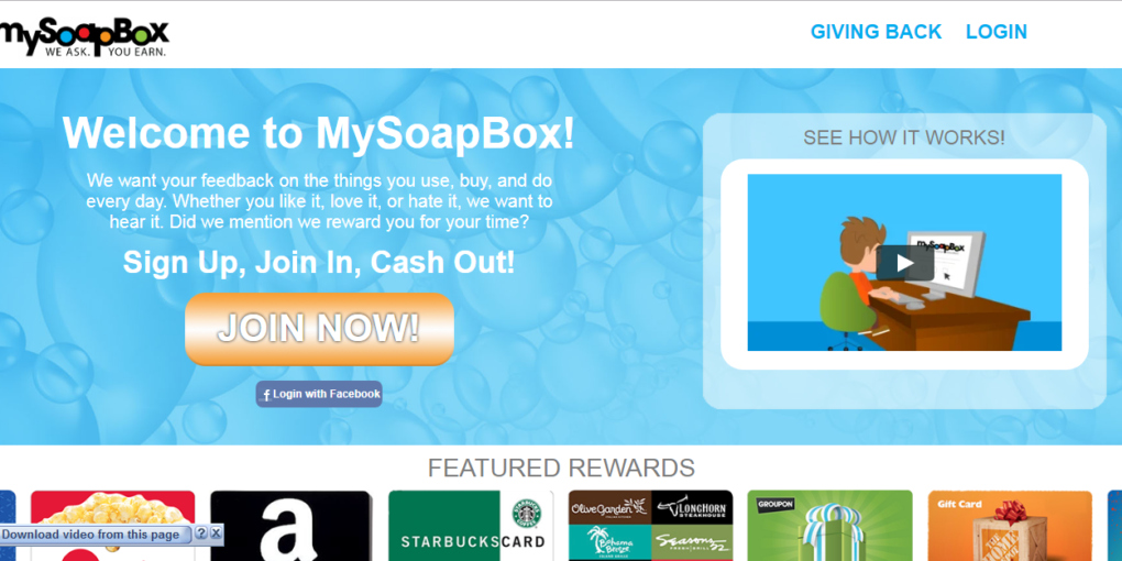 MySoapBox review