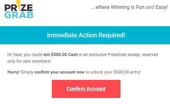 How Does PrizeGrab Work